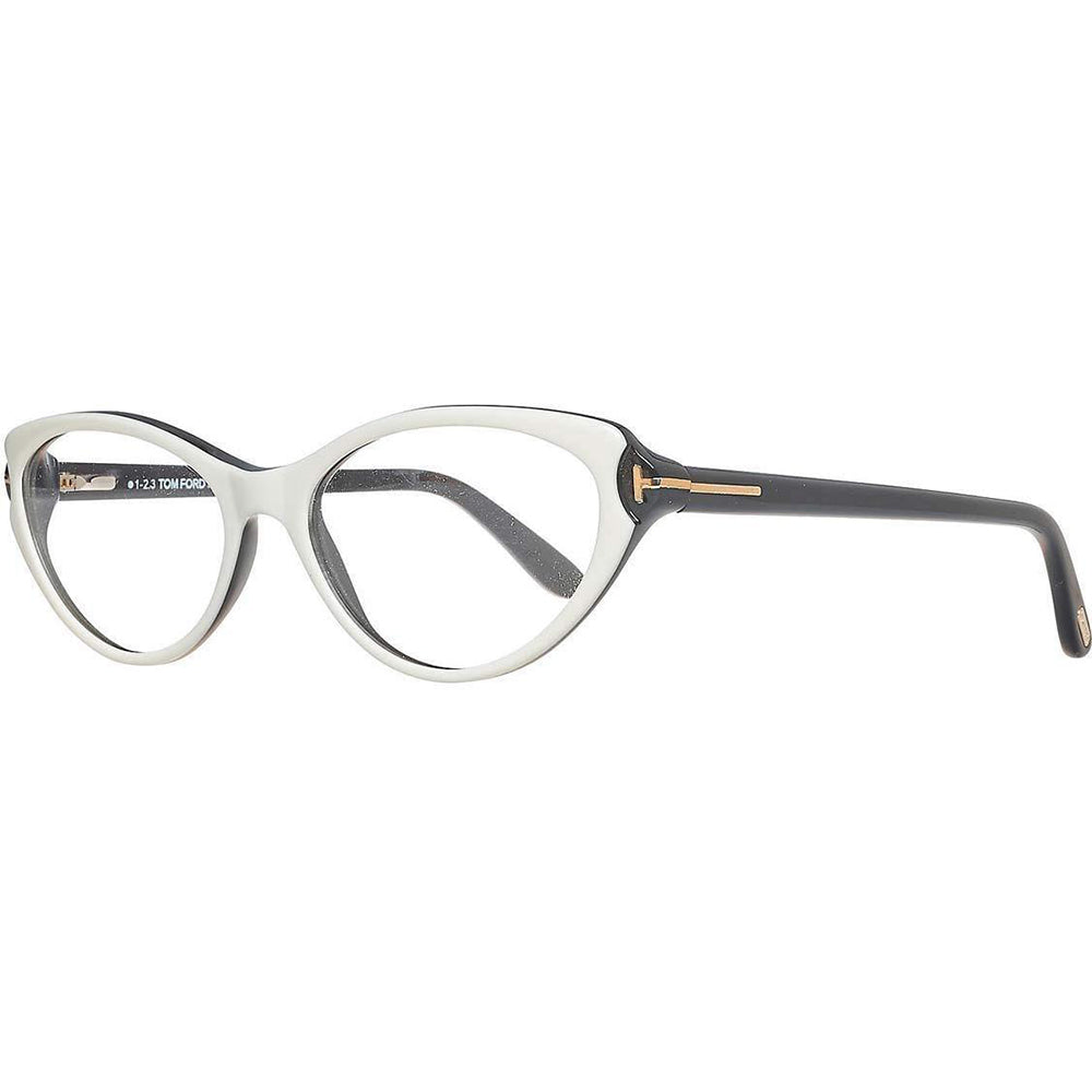 Tom Ford Women's Eyeglasses Black/White W/Demo Lens FT5285/024