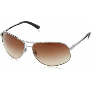 Ray Ban Aviator Unisex Sunglasses w/Brown Gradient Lens RB3387 004/13