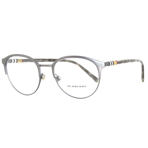 Burberry Round Men's Eyeglasses