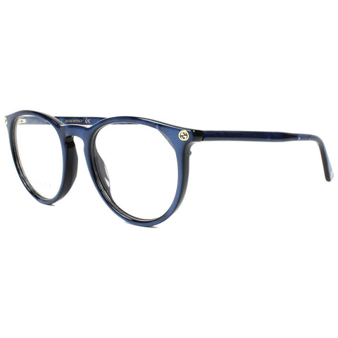 Gucci Round Women's Eyeglasses Blue W/Demo Lens GG00270 005
