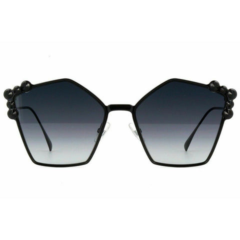 Fendi Sunglasses Black w/Grey Lens Women FF0261/S 205