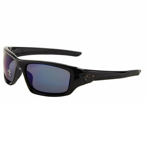 Oakley Valve Sunglasses Polished Black / Deep Blue Polarized Lens OO9236-12