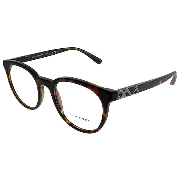 Burberry Unisex Eyeglasses Round Frame Demo Lens - Full View
