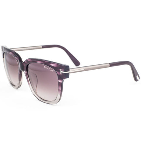 Tom Ford Tracy Women's Sunglasses With Bordeaux Gradient Lens FT0436-F 83T