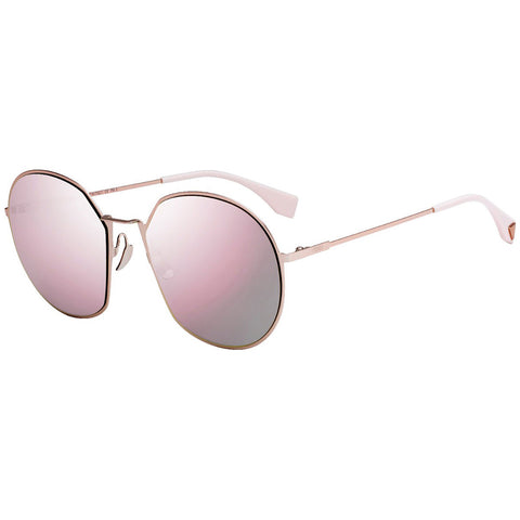 Fendi Sunglasses Pink w/Grey Lens Women FF0313/F/S 35J