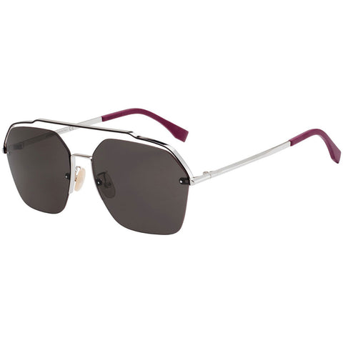 Fendi Sunglasses Palladium w/Grey Lens Men's FFM0032/S 010