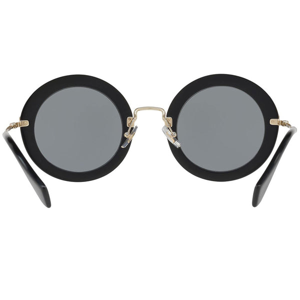 Miu Miu Women's Sunglasses Round Frame - Back View