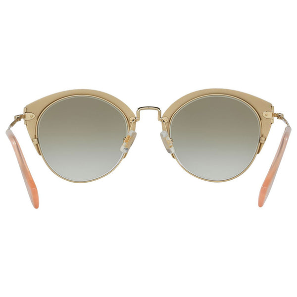Miu Miu Women's Cat Eye Sunglasses Gradient | Back View