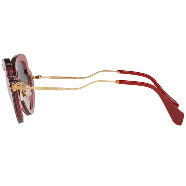 Miu Miu Women's Sunglasses Gradient Lenses | Temple View