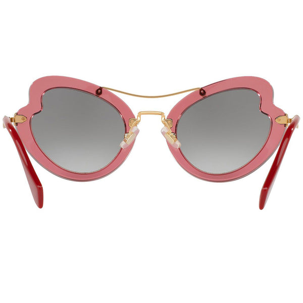 Miu Miu Women's Sunglasses Gradient Lenses | Back View