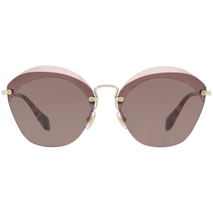 New Authentic Miu Miu Women's Sunglasses W/Purple Lens MU53SS-VX36X1-63