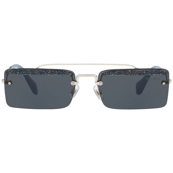 Miu Miu Rectangular Women's Sunglasses