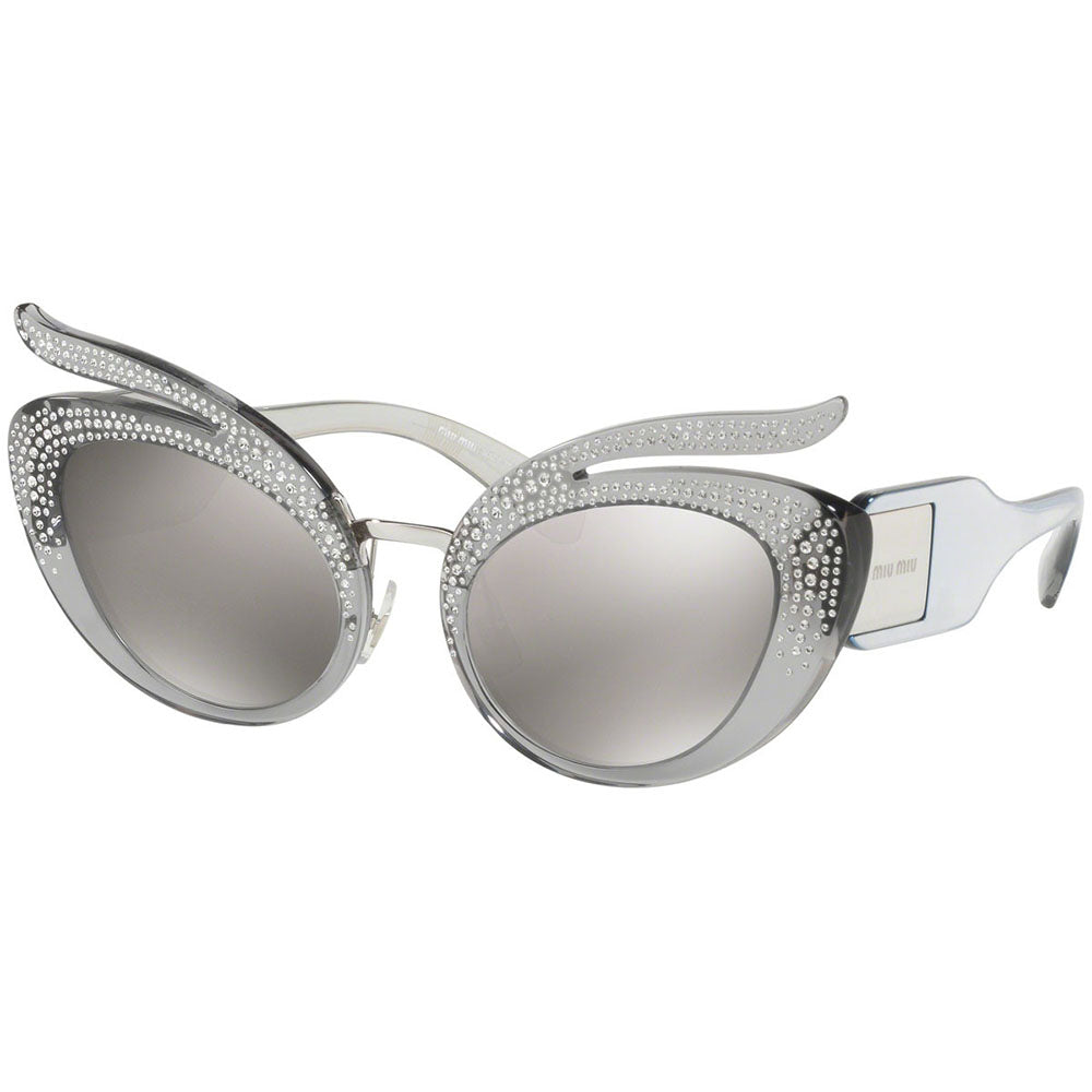 Miu Miu Women's Cat Eye Sunglasses w/Grey Lens MU04TS 54Z139
