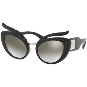 Miu Miu Women's Cat Eye Sunglasses w/Grey Gradient Mirrored Lens MU04TS VW35O0
