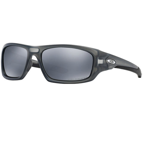 Oakley Valve Men's Sunglasses Matte Grey Smoke w/Black Iridium Polarized Lens OO9236 06