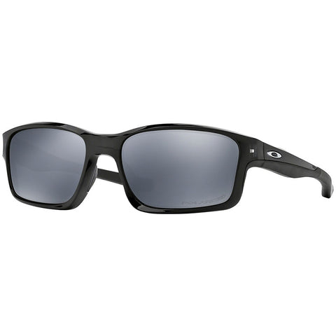 Oakley Chainlink Men's Sunglasses W/Black Iridium Mirrored Polarized Lens OO9247
