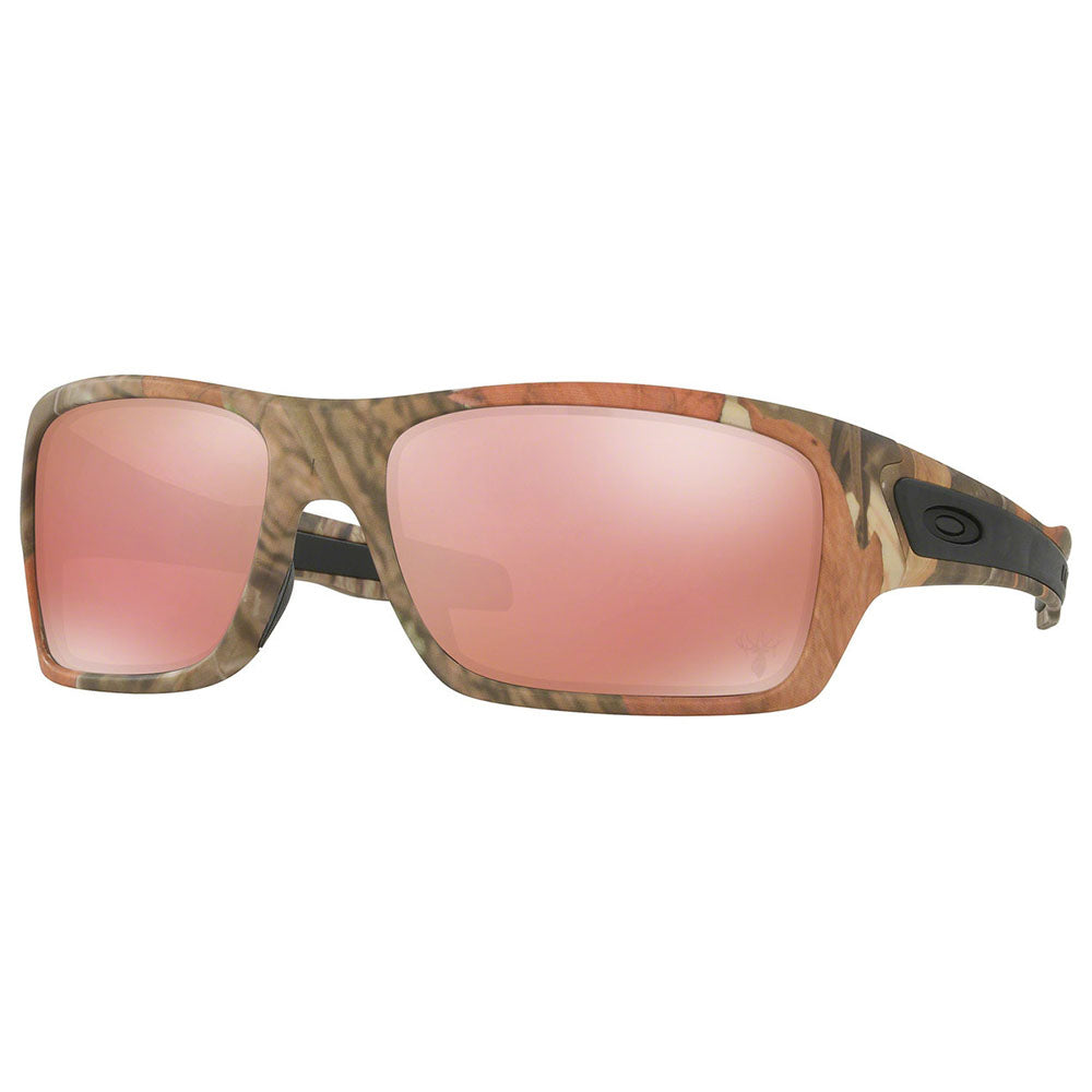 Oakley Turbine Rectangle Men's Sunglasses Pink Lens