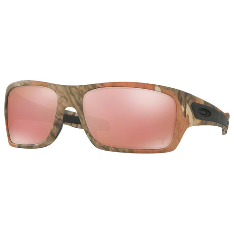 Oakley Turbine Men's Sunglasses W/Pink Mirrored Lens OO9263-28