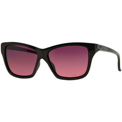 Oakley Hold On Women's Sunglasses W/Pink Gradient Polarized Lens OO9298 02