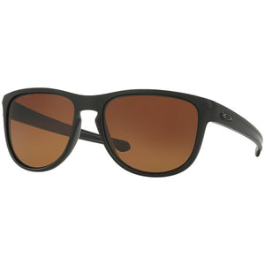 Authentic Oakley Sliver R Men's Sunglasses W/Brown Gradient Polarized OO9342-06