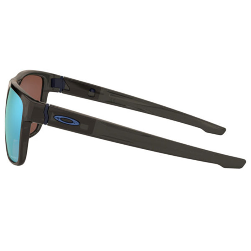bc6c9a37c8 Oakley Crossrange XL Sunglasses Grey Smoke w Prizm Deep H20 Lens Men OO9360  24