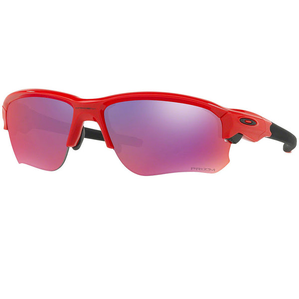 Oakley Men's Flak Draft Sunglasses Red w/Prizm Road Lens  OO9364-05