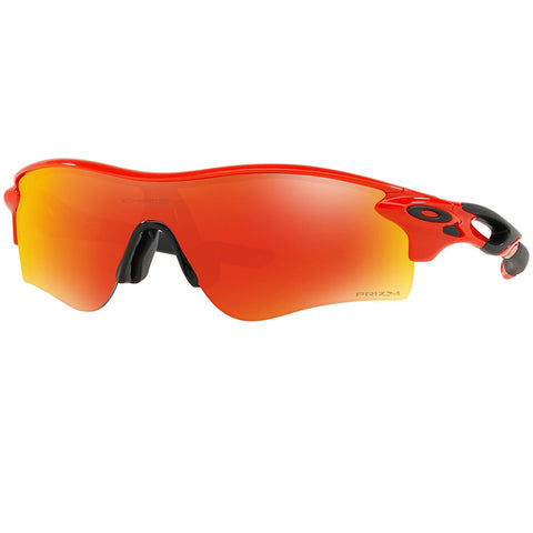 Oakley Men's Radarlock Path Sunglasses Infrared  w/Prizm Ruby Lens OO9206 45