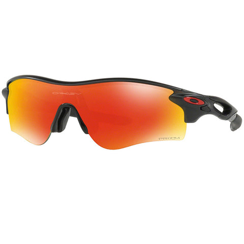 Oakley Unisex RadarLock Path Sunglasses Prizm Ruby Mirror Lens OO9206 4238
