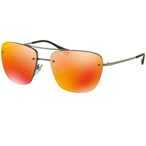 Prada Linea Rossa Pilot Men Sunglasses Brown or Orange Lens