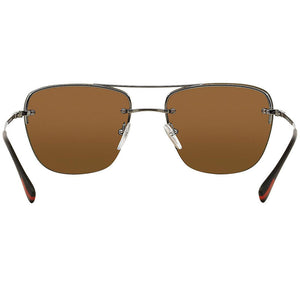 Prada Linea Rossa Pilot Men Sunglasses | Back Side View