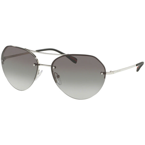 Prada Aviator Men's Sunglasses W/Grey Gradient Lens PS57RS 1BC0A7