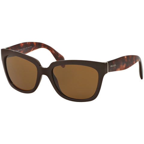 Prada Women's Sunglasses W/Brown Polarized Lens PR07P DHO-5Y1