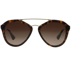 Prada Cinema Pilot Women's Sunglasses Brown Lens | Front