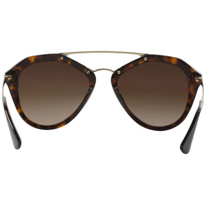 Prada Cinema Pilot Women's Sunglasses Brown Lens | Back