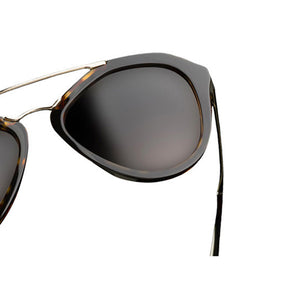 Prada Cinema Pilot Women's Sunglasses Brown Lens | Frame View