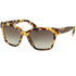Prada Wayfarer Women Sunglasses Blonde Havana - Grey Lens