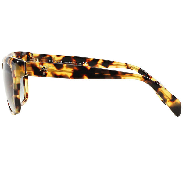 Prada Wayfarer Women Sunglasses Blonde Havana - Side Look