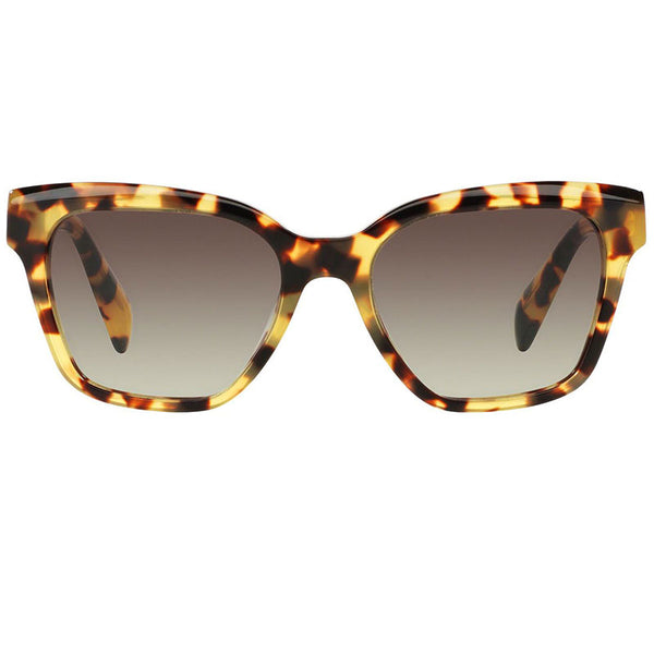 Prada Wayfarer Women Sunglasses Blonde Havana - Front Look