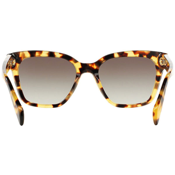 Prada Wayfarer Women Sunglasses Blonde Havana - Back Look