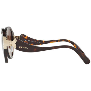 Prada Women's Butterfly Sunglasses Brown Lens PR09TS-2AU6S1