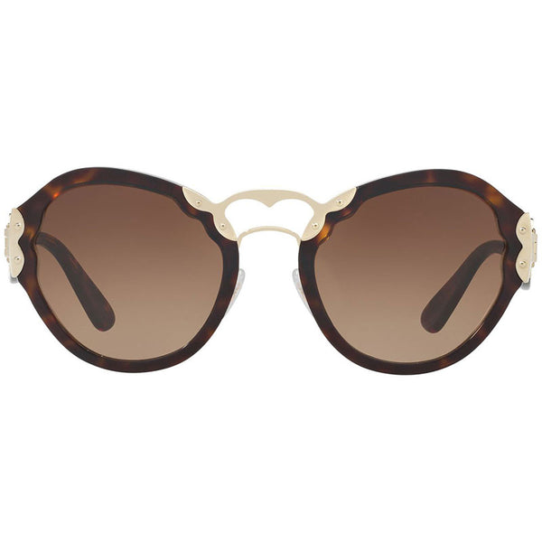 Prada Women's Butterfly Sunglasses PR09TS-2AU6S1 - Front View