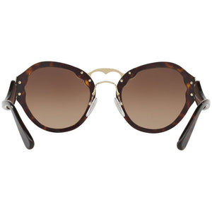 Prada Women's Sunglasses Brown Lens PR09TS-2AU6S1 - Back