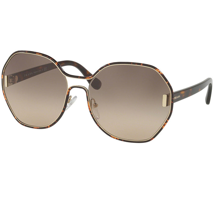 Prada Sunglasses Dark Havana w/Brown Gradient Lens Women PR53TS-2AU3D0-62
