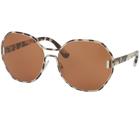 Prada Sunglasses Grey Havana w/Brown Lens Women PR53TS UAO6N0