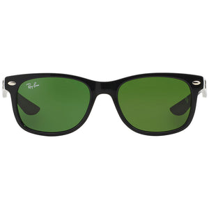 Ray-Ban New Wayfarer Junior Sunglasses w/Green Lens RJ9052S-100/2-7