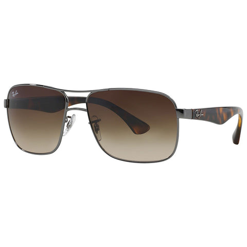 Ray-Ban Men's Sunglasses w/Brown Gradient Lens RB3516 004/13