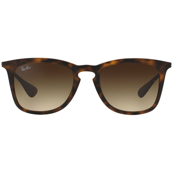 Ray-Ban Unisex Sunglasses Black W/Brown Gradient Lens RB4221 865/13