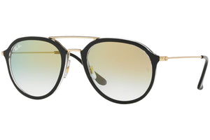 Ray Ban Unisex Pilot Style Sunglasses Gradient Lens | Full View
