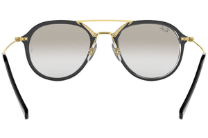 Ray Ban Unisex Pilot Style Sunglasses Gradient Lens | Back View