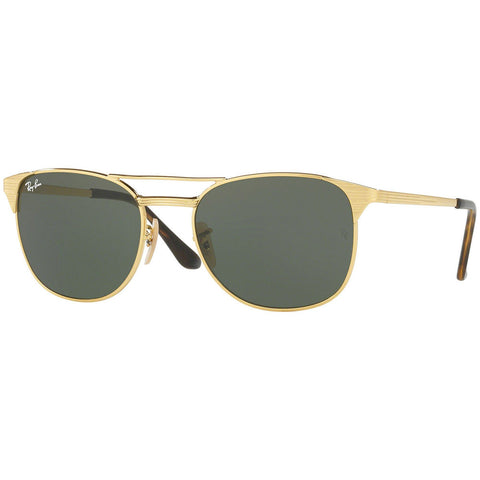 Ray-Ban Signet Sunglasses W/Crystal Green G-15 Lens RB3429M 001